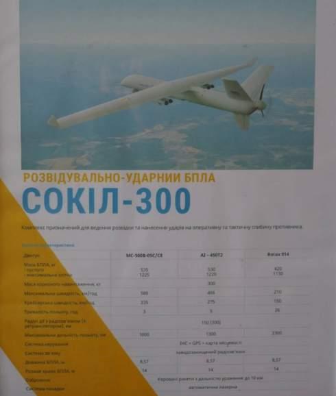 Ударный беспилотник «Сокол-300»: Что за аналог «Байрактара» сделали в Украине