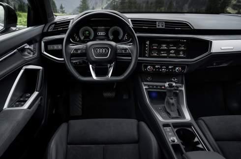 Audi превратила кроссовер Q3 в экономичный гибрид