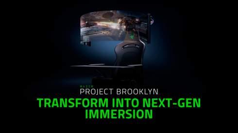 Представлено игровое кресло будущего с гибким 60-дюймовым экраном