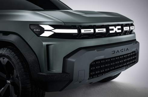 Dacia показала новый кроссовер