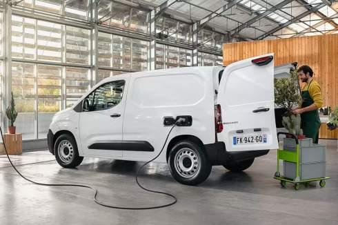 Представлен новый электрический фургон Citroen e-Berlingo