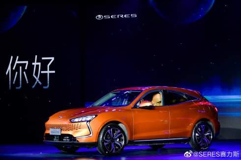 Представлен первый в мире электромобиль на платформе Huawei