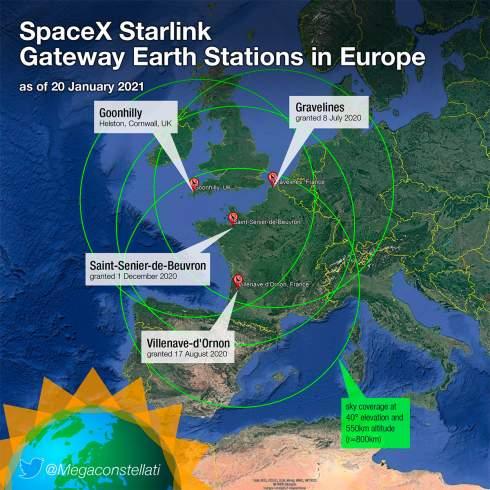 SpaceX получила разрешение на предоставление Интернета через Starlink во Франции