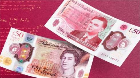 Банк Англии представил новую банкноту в честь известного математика и криптографа