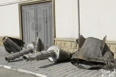 Азербайджан нашел доказательства обстрела своей территории российскими ракетами