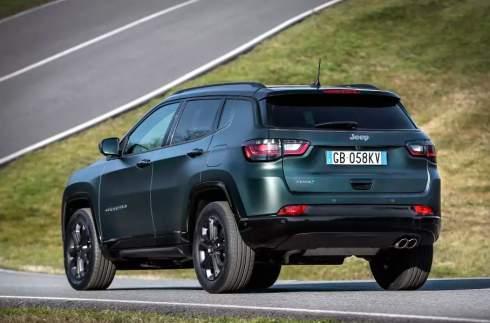 В Европе дебютировал обновленный Jeep Compass