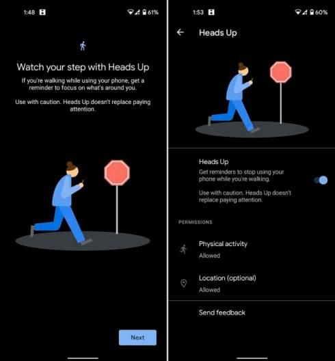 Google запустила новую функцию Android, которая поможет не попасть под машину