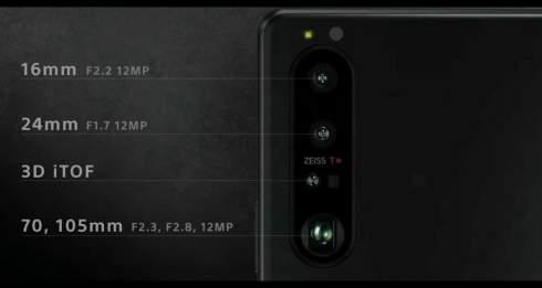 Представлен компактный флагман Sony Xperia 1 III