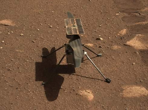 NASA опубликовало видео первого полёта марсианского вертолёта