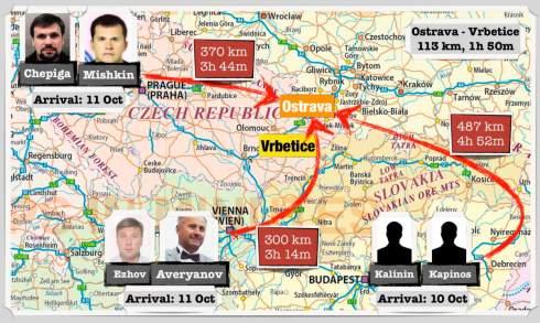 Взрывы на складах оружия в Чехии готовили 6 сотрудников ГРУ РФ - Bellingcat