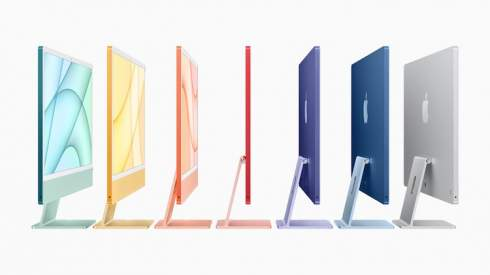 Apple представила совершенно новые iMac — фирменный процессор M1, 24-дюймовый 4,5K-дисплей и свежий яркий дизайн