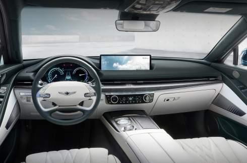 Седан Genesis G80 стал электромобилем