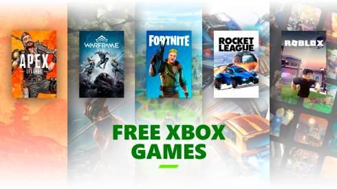 В Fortnite, Warframe, Apex Legends и Call of Duty: Warzone на Xbox теперь можно играть полностью бесплатно