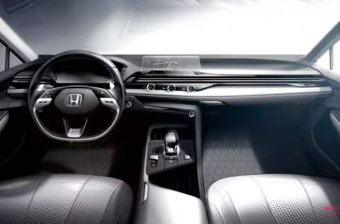 Honda показала дизайн интерьера будущих моделей