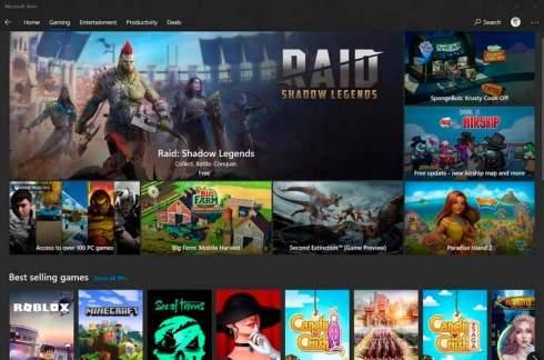 Microsoft Store более чем в два раза уменьшил комиссию с продаж игр для ПК