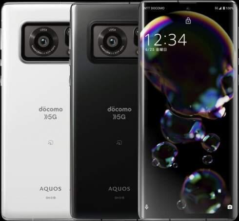 Представлен Sharp Aquos R6 – первый в мире смартфон с дюймовым датчиком изображения