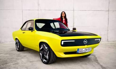 Opel возродила купе Manta в виде электрокара
