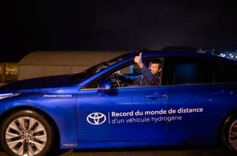 Седан Toyota Mirai установил новый рекорд пробега на водороде