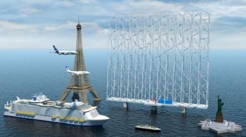 В Норвегии разрабатывают морскую ветроэнергетическую установку нового типа