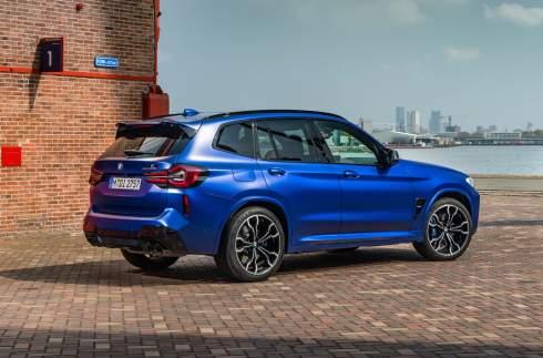 BMW улучшила «заряженные» кроссоверы X3 M и X4 M
