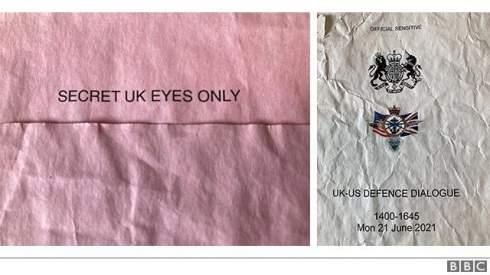 Минобороны Британии извинилось за потерю секретных документов о «Дефендере»