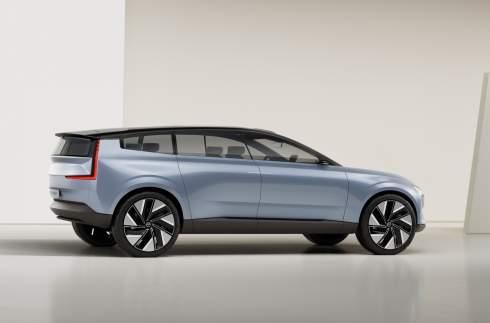 Volvo показала предвестника будущей линейки электромобилей