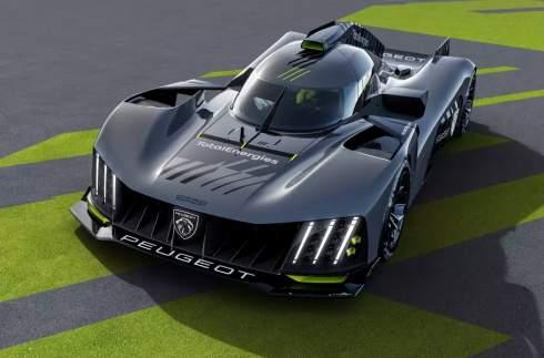 Peugeot показала гиперкар для «Ле-Мана» без антикрыла