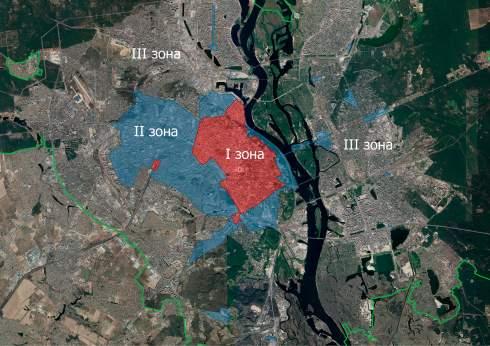 В Киеве изменили парковочные зоны: самую дорогую расширили в три раза