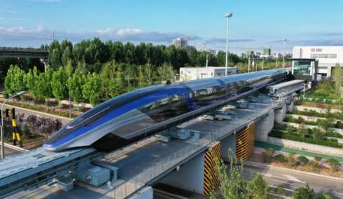 Китай начал серийно выпускать маглева-поезда, способные двигаться со скоростью 600 км/ч