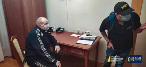 НАБУ задержало Чауса в больнице «Феофания»