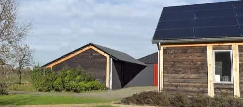 Проект коттеджа с нулевым энергопотреблением
