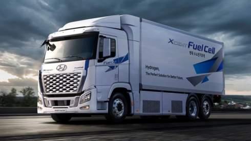 Hyundai планирует поставлять по 64 тысячи водородных грузовиков в год к концу десятилетия