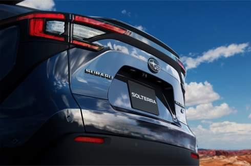 Subaru раскрыла дизайн электрического кроссовера Solterra