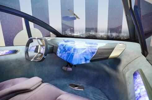 BMW показала электрокар, полностью сделанный из вторсырья