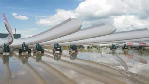 Созданы первые в мире перерабатываемые лопасти для ветрогенераторов