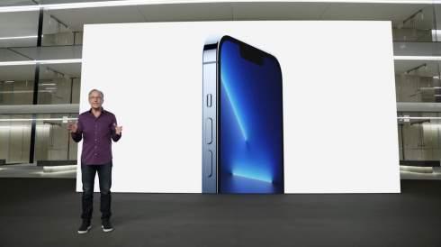 Apple представила четыре новые модели iPhone 13