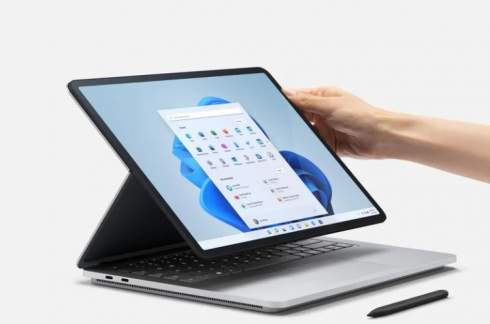 Microsoft представила Surface Laptop Studio — флагманский гибридный ноутбук с GeForce RTX и ценой от $1600