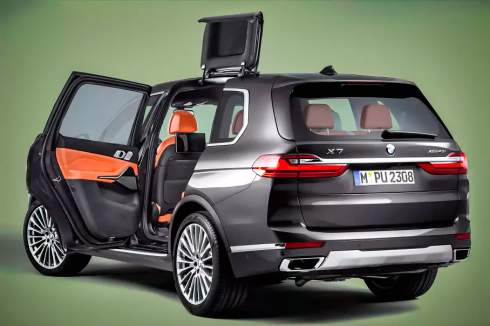 BMW запатентовала очень странные двери. Они и подъёмные, и раздвижные одновременно