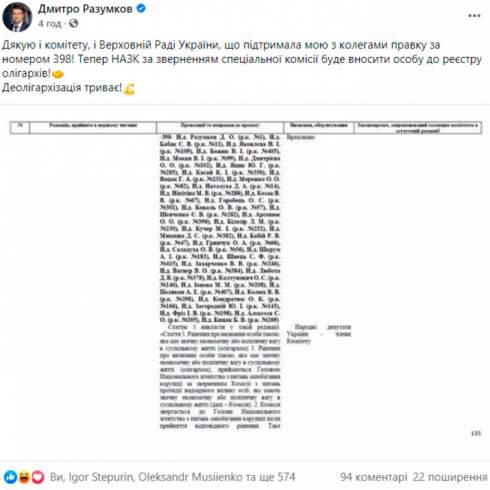 НАПК как у Разумкова или СНБО как у Зеленского: Что теперь будет с законом об олигархах