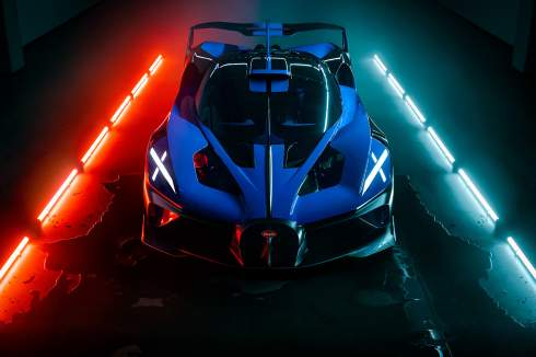 Bugatti Bolide за 4,6 миллиона долларов признали самым красивым гиперкаром в мире