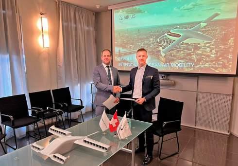 Позитив недели. Украина помогает Швейцарии сделать e-VTOL самолет